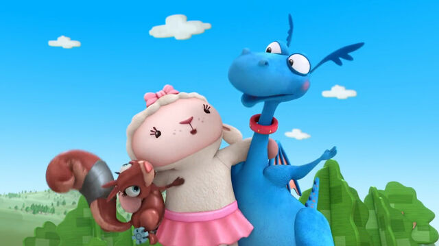File:Lambie and stuffy singing time for your checkup2.jpg