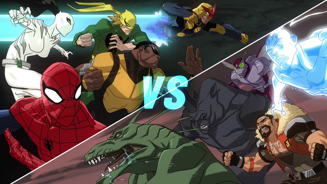 File:Spidy's Team vs Sinister Six.png