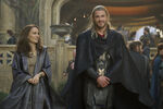 Thor Odinson and Jane Foster in Asgard