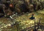Merida firing arrows in the game