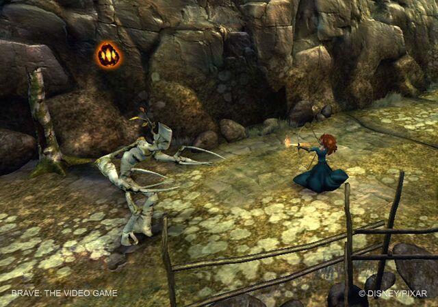 File:Merida firing arrows in the game.jpg