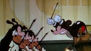 Mickey and violinists