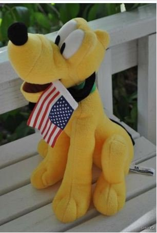 File:Pluto Extra Large 13 Inch Plush with Flag.jpg