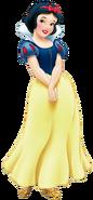 Snow white transparent
