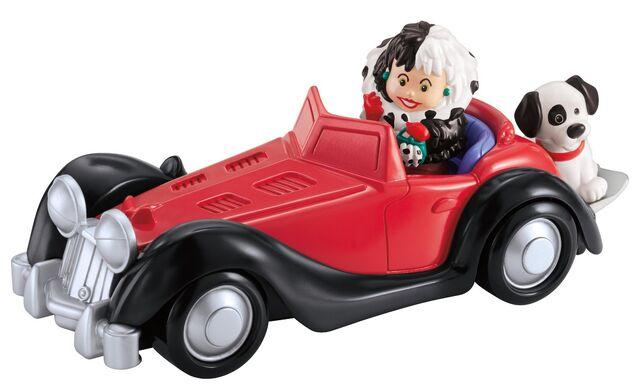 File:Disney - Fisher-Price - Little People - Cruella de Vil - with Car and Dog.jpg