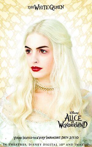 File:White Queen Alice in Wonderland Poster.jpg