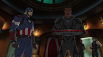 Captain America and Black Panther AUR 08