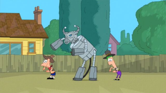 File:Phineas, Ferb, and Bull.jpg