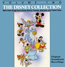 The Disney Collection Volume 2 1987 Cover
