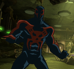 Spider-Man (Miguel O'Hara) in Ultimate Spider-Man Universe