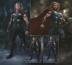 Thor Avengers Concept Art 1