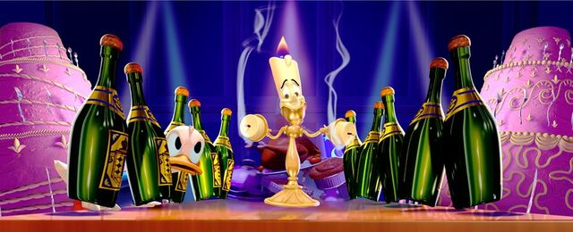 File:Lumiere and Donald - Mickey's PhilharMagic.jpg
