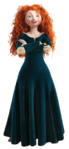 Merida with arms crossed