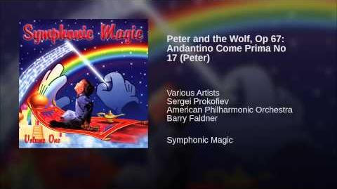 Peter and the Wolf, Op 67 Andantino Come Prima No 17 (Peter)