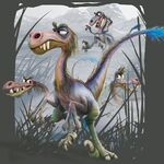 Velociraptors dinos
