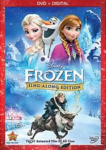 Frozen Sing A Long Edition Disney November 8th 2014 Cover Box Art