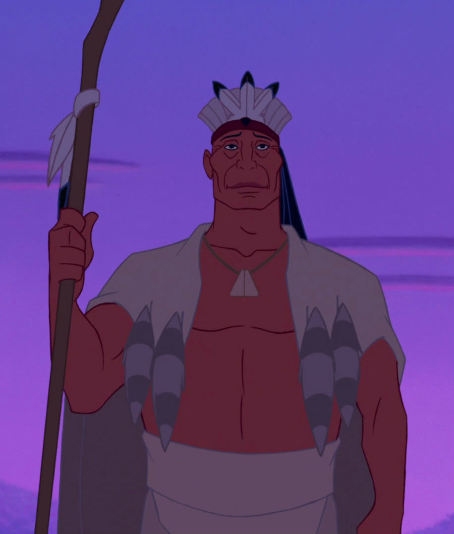 Chief Powhatan Disney Wiki Fandom Powered By Wikia