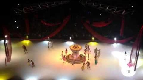 Disney On Ice; Let's Celebrate! April 6, 2014. American Airlines Center