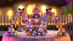 Disney tsum characters group shot cake decoration