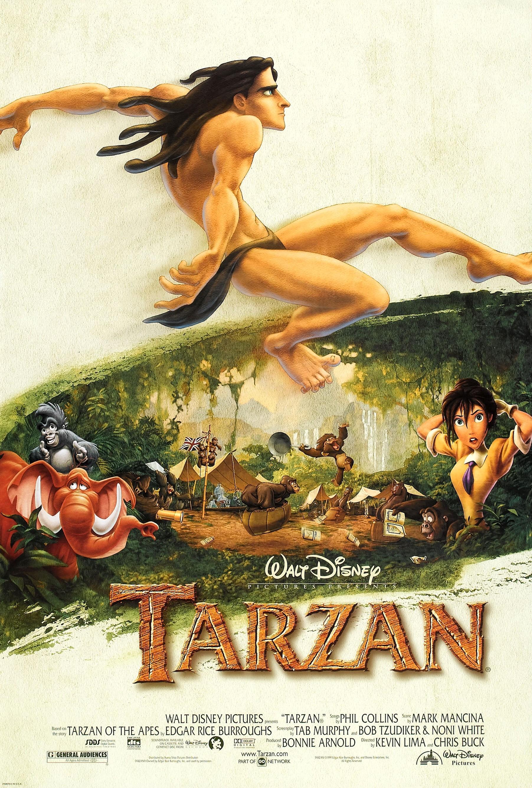 Tarzan film disney wiki fandom powered by wikia - Tarzan pelicula completa ...