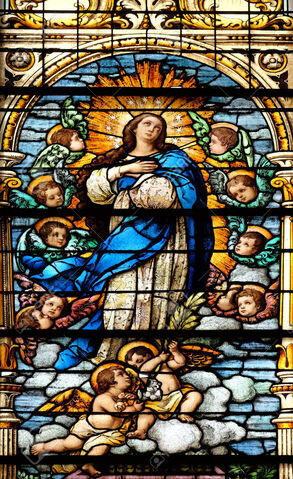 File:46230388-Assumption-of-the-Virgin-Mary-stained-glass-window-in-the-Basilica--Stock-Photo.jpg