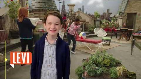 Levi Raven's Home Disney Channel