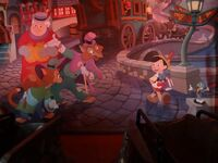 Pinocchio mural