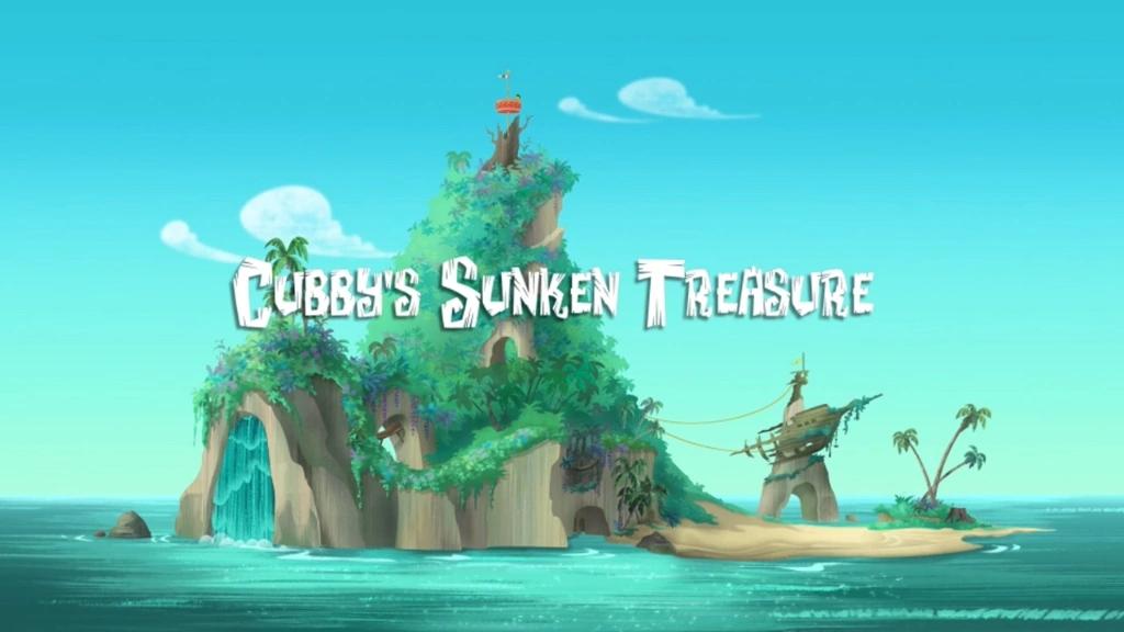 File:Cubby's Sunken Treasure title card.png