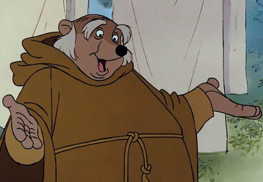 Friar Tuck Disney Wiki Fandom Powered By Wikia
