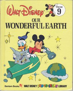 936full-our-wonderful-earth-(walt-disney-fun--to--learn-library,-volume-9)-cover