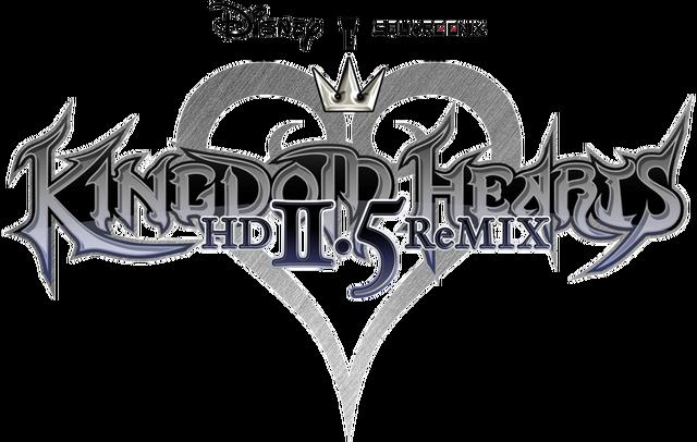 File:Kingdom Hearts HD II.5 ReMIX Logo.png