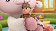 Army al being hugged