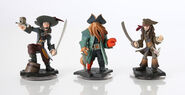 Pirates of the Caribbean Disney Infinity figures