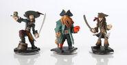 Pirates of the Caribbean Disney Infinity figures