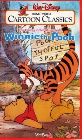 File:The many adventures of winnie the pooh cartoon classics vhs.jpg