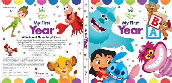 File:Disney Baby My First Year Book.png