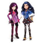 Mal and Evie dolls