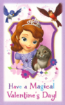 Sofia the first valentine 5