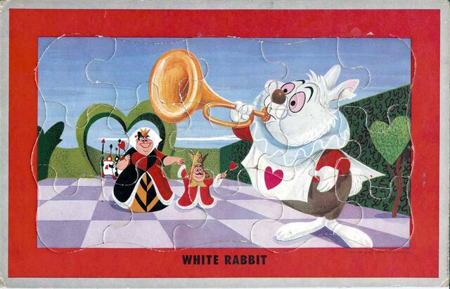 File:Jaymar jigsaw puzzle game - white rabbit 640.jpg
