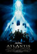 Atlantis The Lost Empire poster