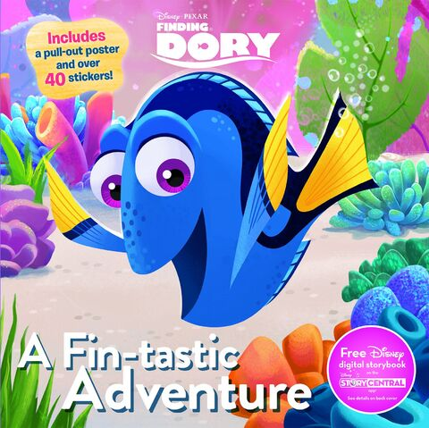 File:Finding Dory Book - A Fin-Tastic Adventure.jpg