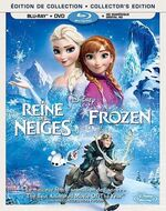 Frozen Blu-Ray Bilingual