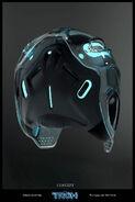 Sam Flynn Helmet Concept Art 2