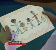 Mcstuffins drawing