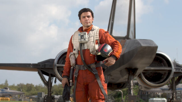 File:Poe and his X-Wing.jpeg