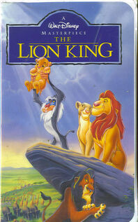 The lion king-vhs-tape