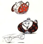 Mrs. Potts Concept Art