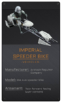 Imperial Speeder Bike