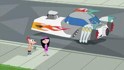 Meap's rebuilt spaceship