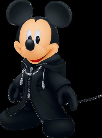 File:King Mickey (Black Coat) KHII.png